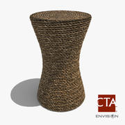 Rope Stool / Table 3d model