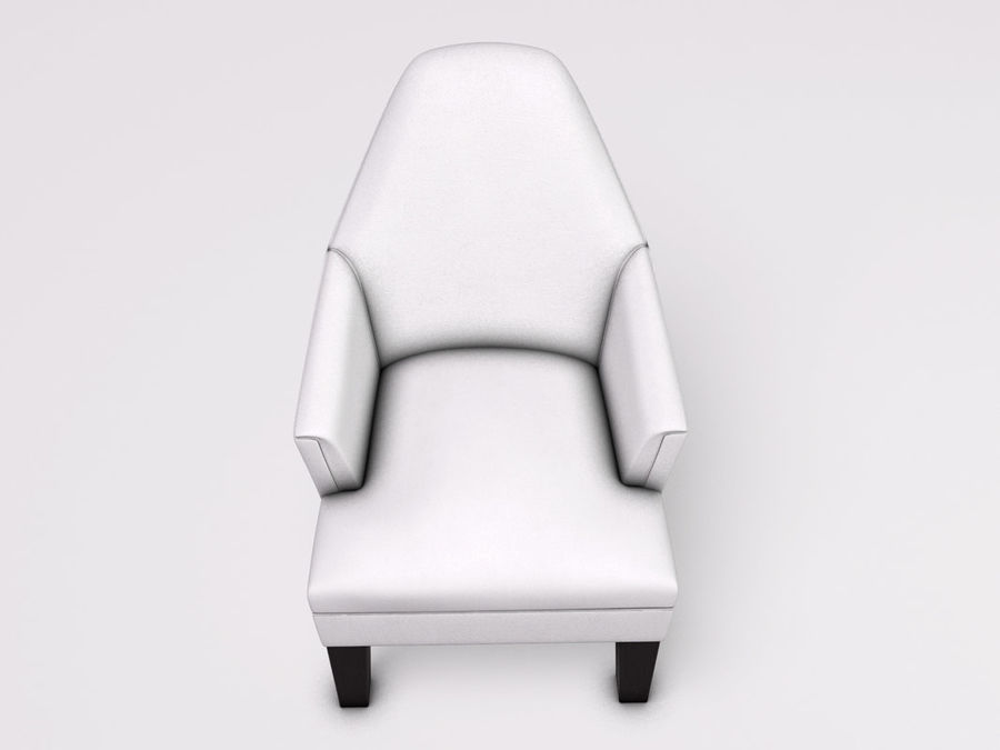 Wychwood Design Armchair royalty-free 3d model - Preview no. 4