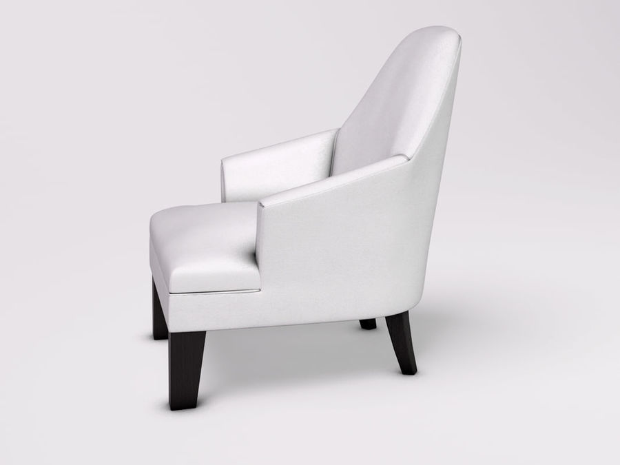 Wychwood Design Armchair royalty-free 3d model - Preview no. 2