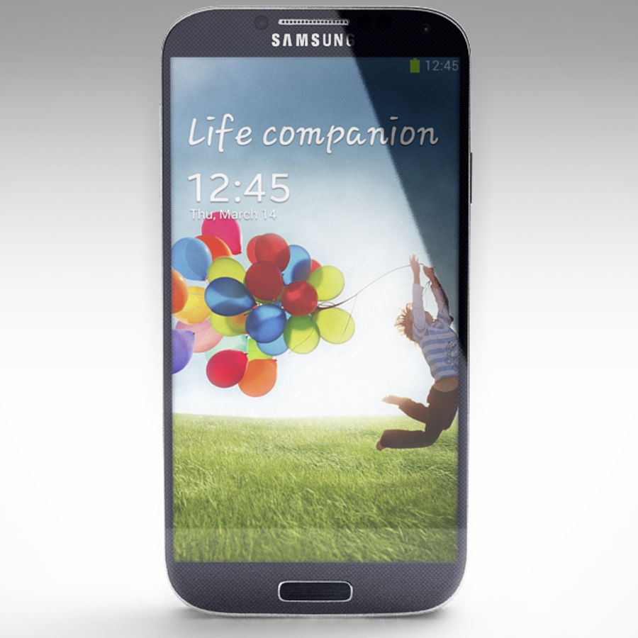 Samsung Galaxy S3 and S4 royalty-free 3d model - Preview no. 20