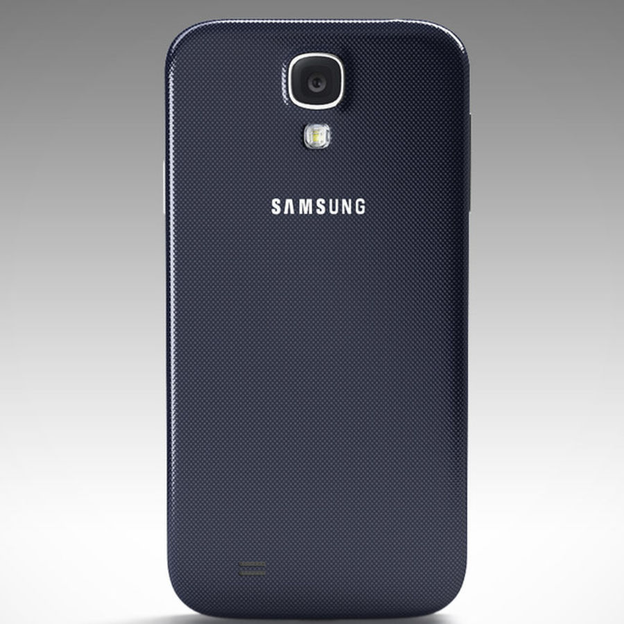 Samsung Galaxy S3 and S4 royalty-free 3d model - Preview no. 23