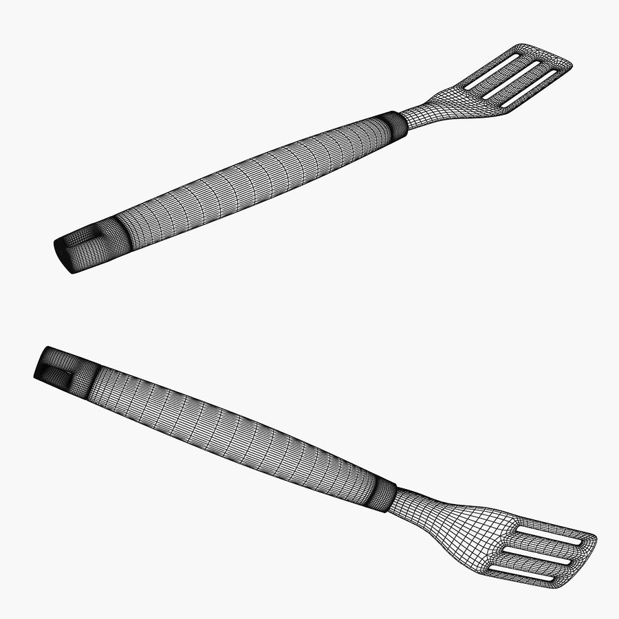 Spatula royalty-free 3d model - Preview no. 5