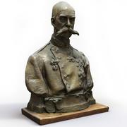 Head Bust Male Salsburg 3d model