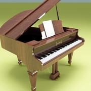 ピアノ 3d model
