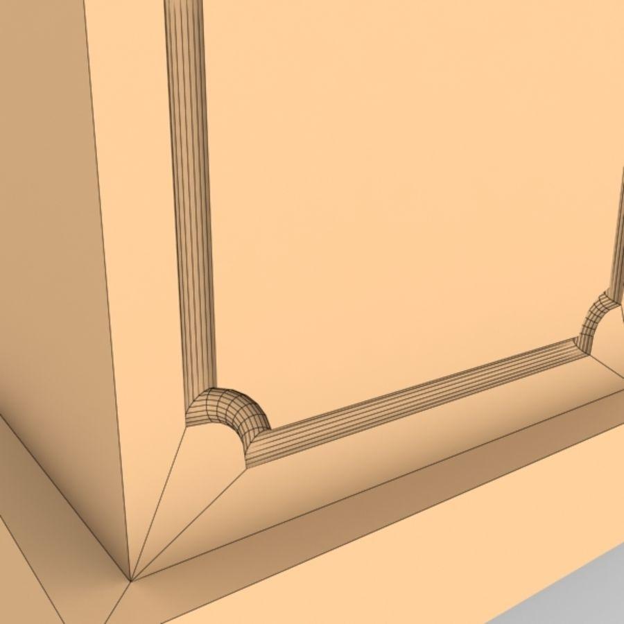 Plinth Block 007 royalty-free 3d model - Preview no. 6