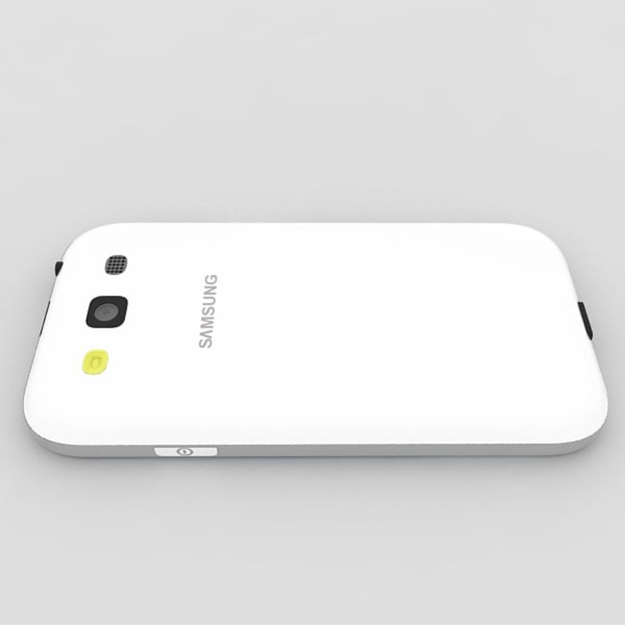 Samsung Galaxy S3 royalty-free 3d model - Preview no. 5