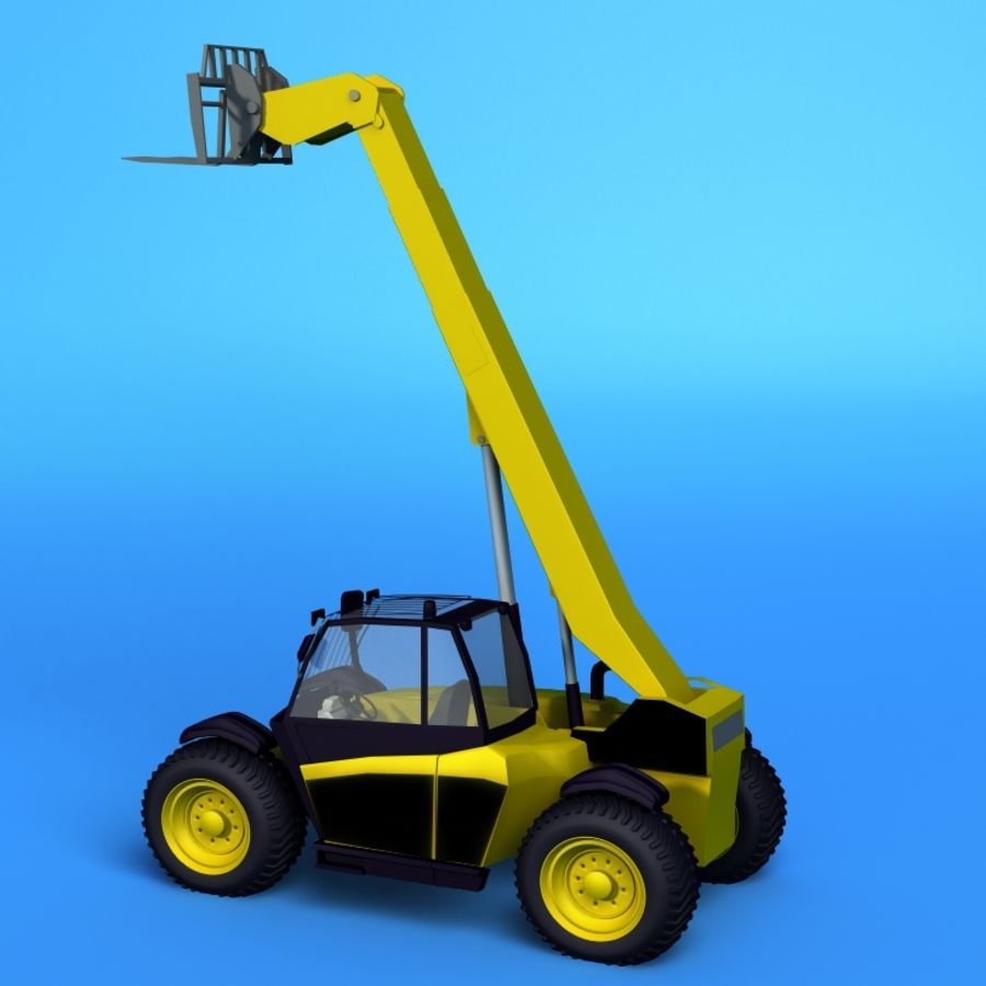 Crane Vehicle royalty-free 3d model - Preview no. 1