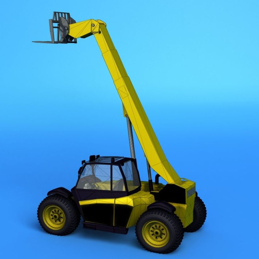 Crane Vehicle royalty-free 3d model - Preview no. 3