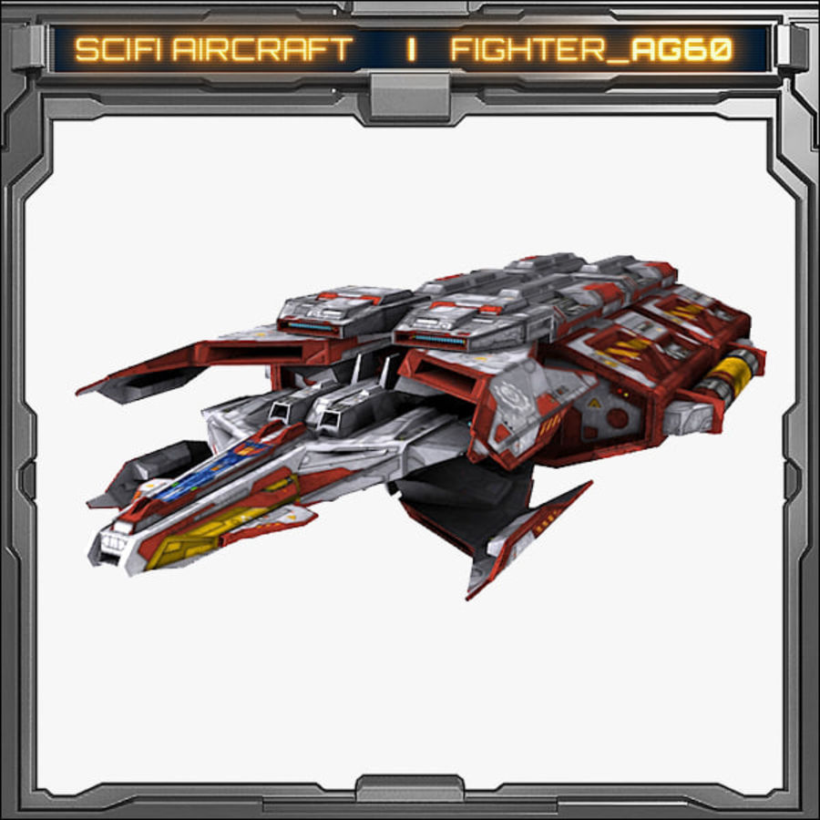 SciFi_AG60 royalty-free 3d model - Preview no. 4