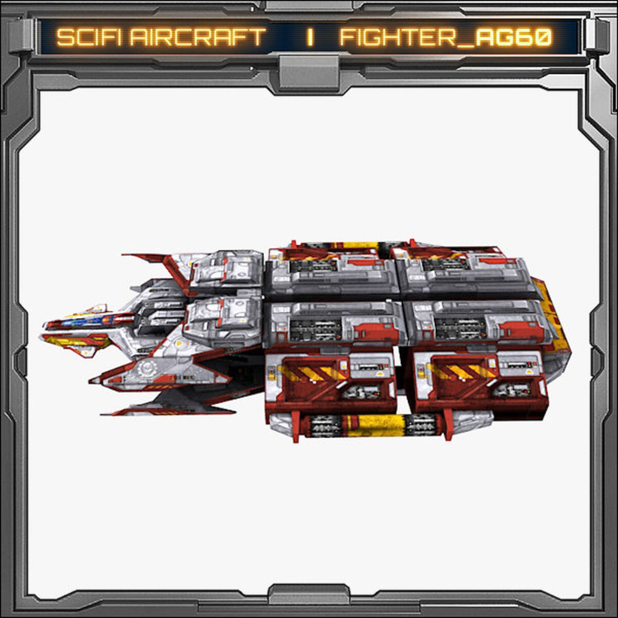 SciFi_AG60 royalty-free 3d model - Preview no. 5