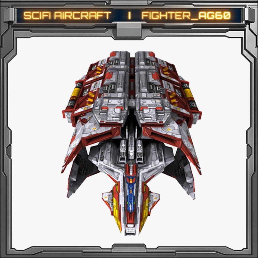 SciFi_AG60 royalty-free 3d model - Preview no. 2