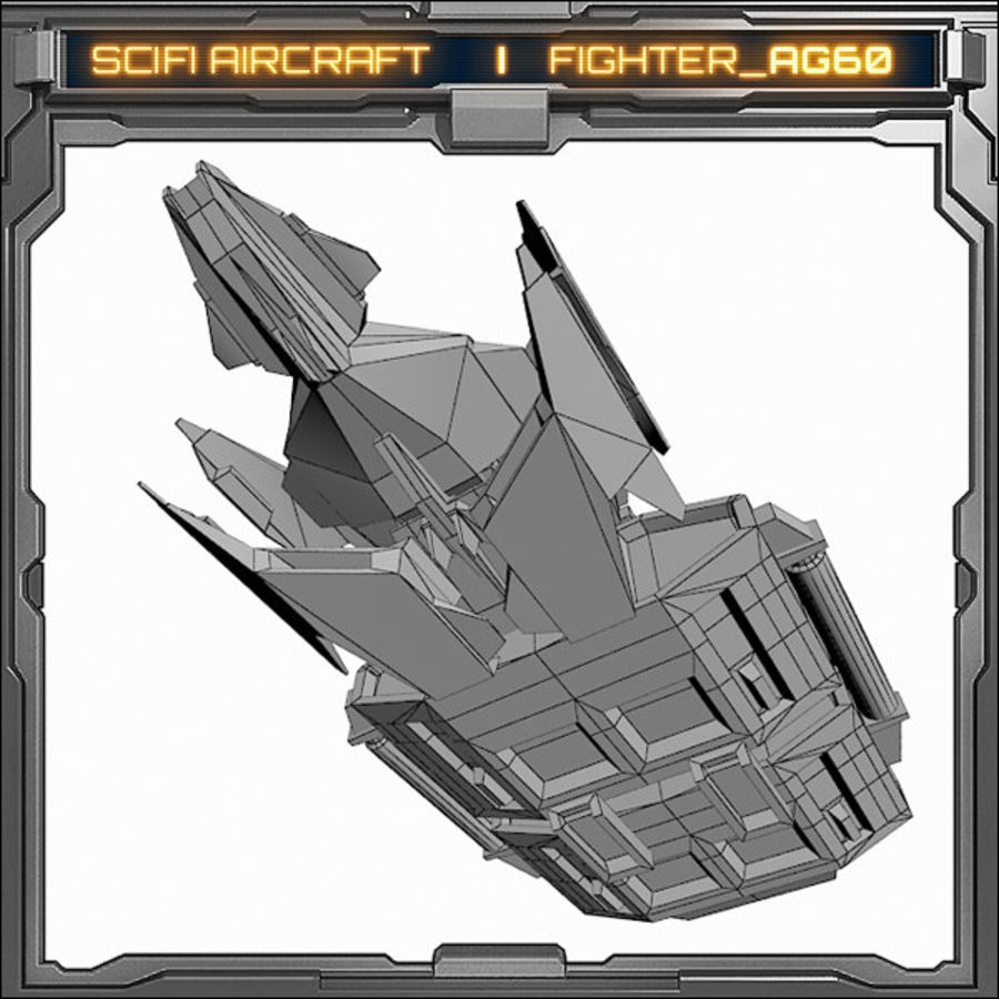 SciFi_AG60 royalty-free 3d model - Preview no. 8