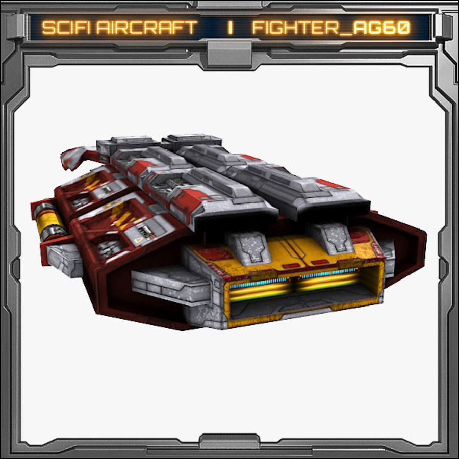 SciFi_AG60 royalty-free 3d model - Preview no. 6
