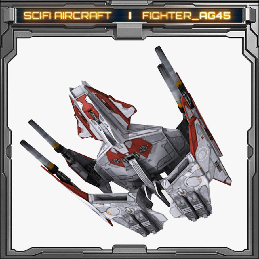 SciFi_AG45 royalty-free 3d model - Preview no. 4