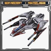 SciFi_AG45 3d model