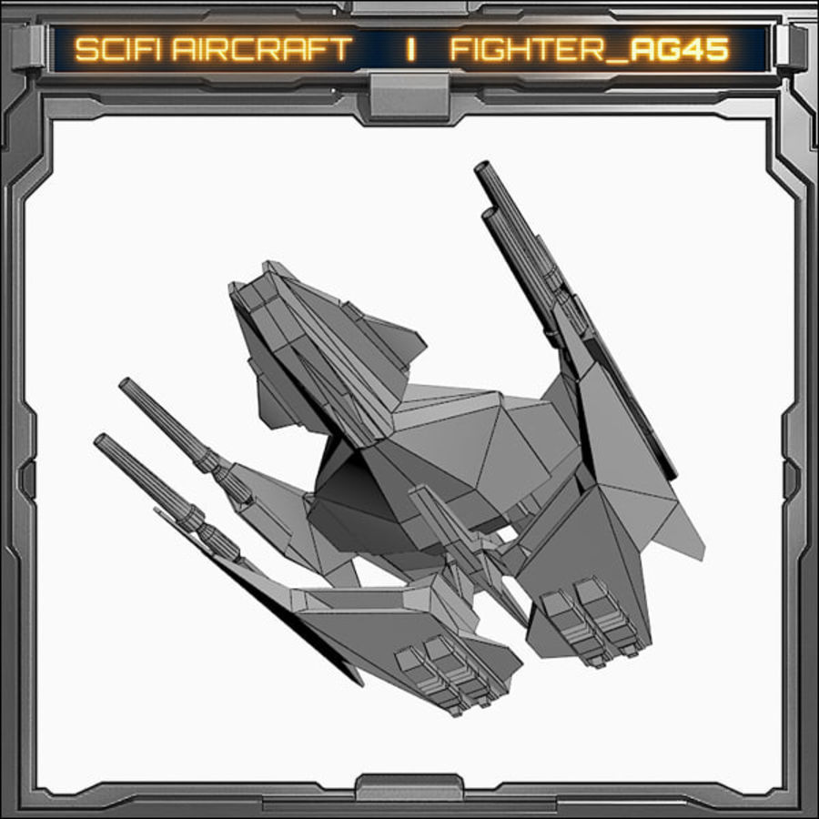 SciFi_AG45 royalty-free 3d model - Preview no. 6