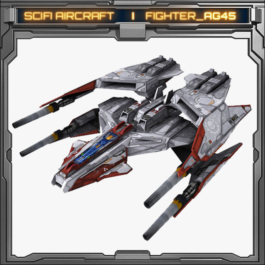 SciFi_AG45 royalty-free 3d model - Preview no. 1