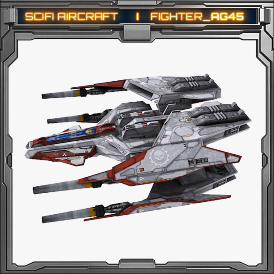 SciFi_AG45 royalty-free 3d model - Preview no. 3