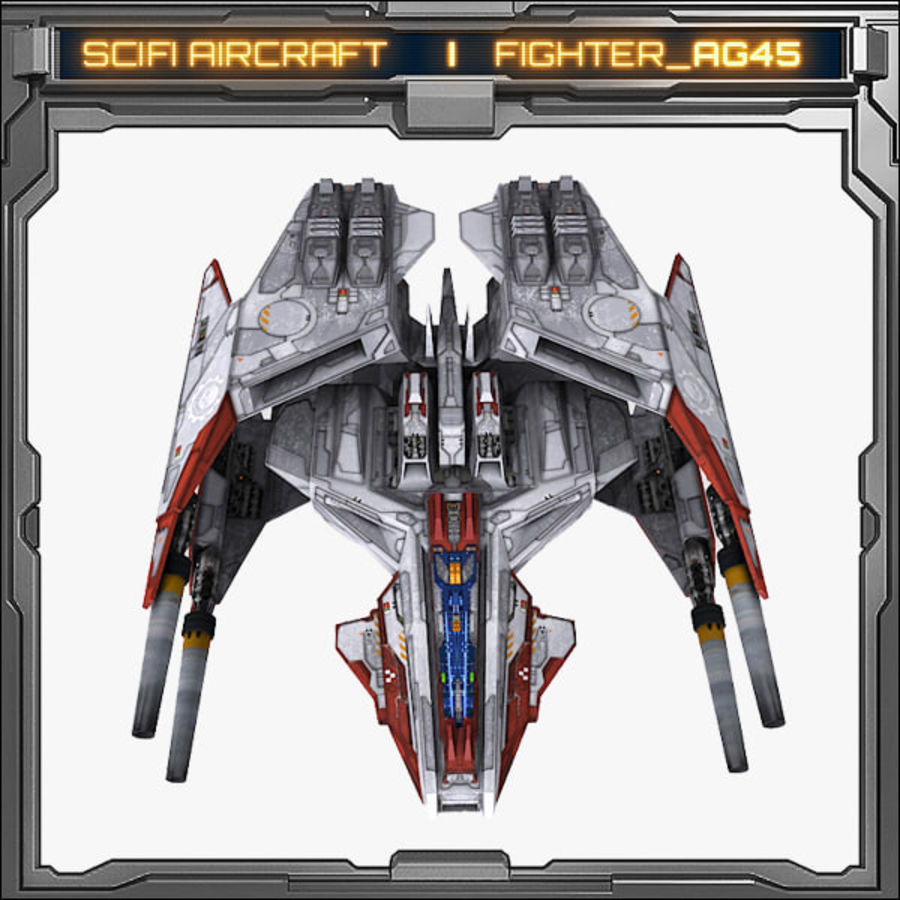 SciFi_AG45 royalty-free 3d model - Preview no. 2