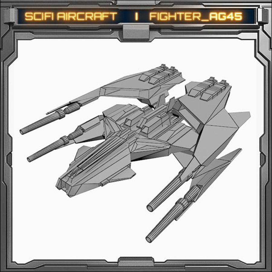 SciFi_AG45 royalty-free 3d model - Preview no. 5