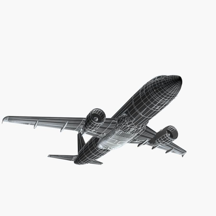 Airbus A320 royalty-free 3d model - Preview no. 11