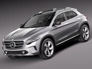 Mercedes-Benz GLA Concept 2013 3d model