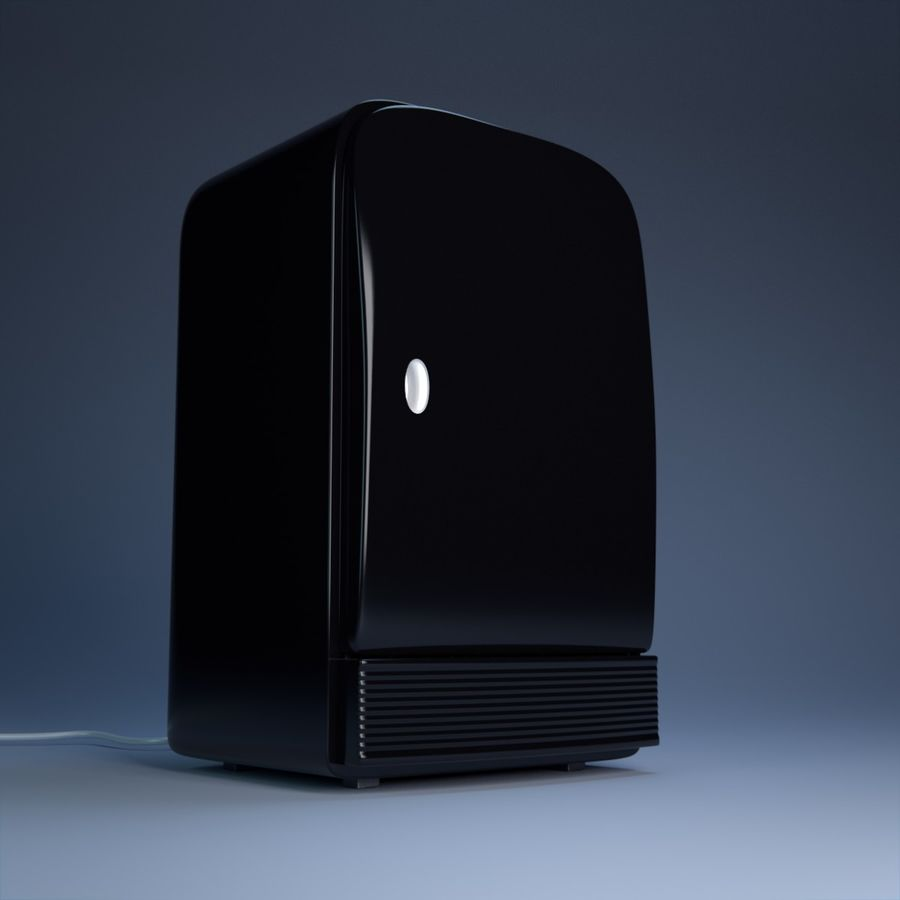 Fridge royalty-free 3d model - Preview no. 2