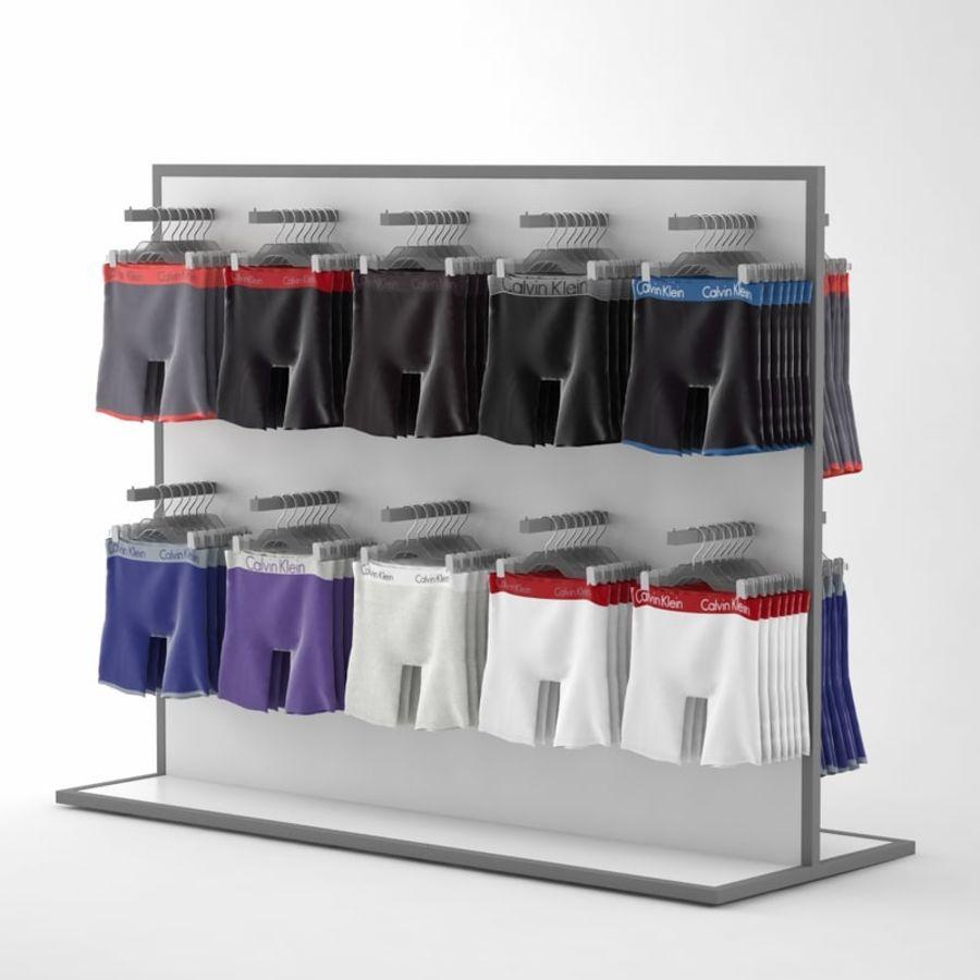 Boxer Shorts Set royalty-free 3d model - Preview no. 4