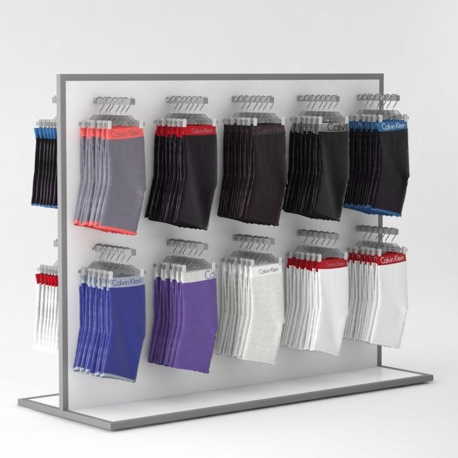 Boxer Shorts Set royalty-free 3d model - Preview no. 3