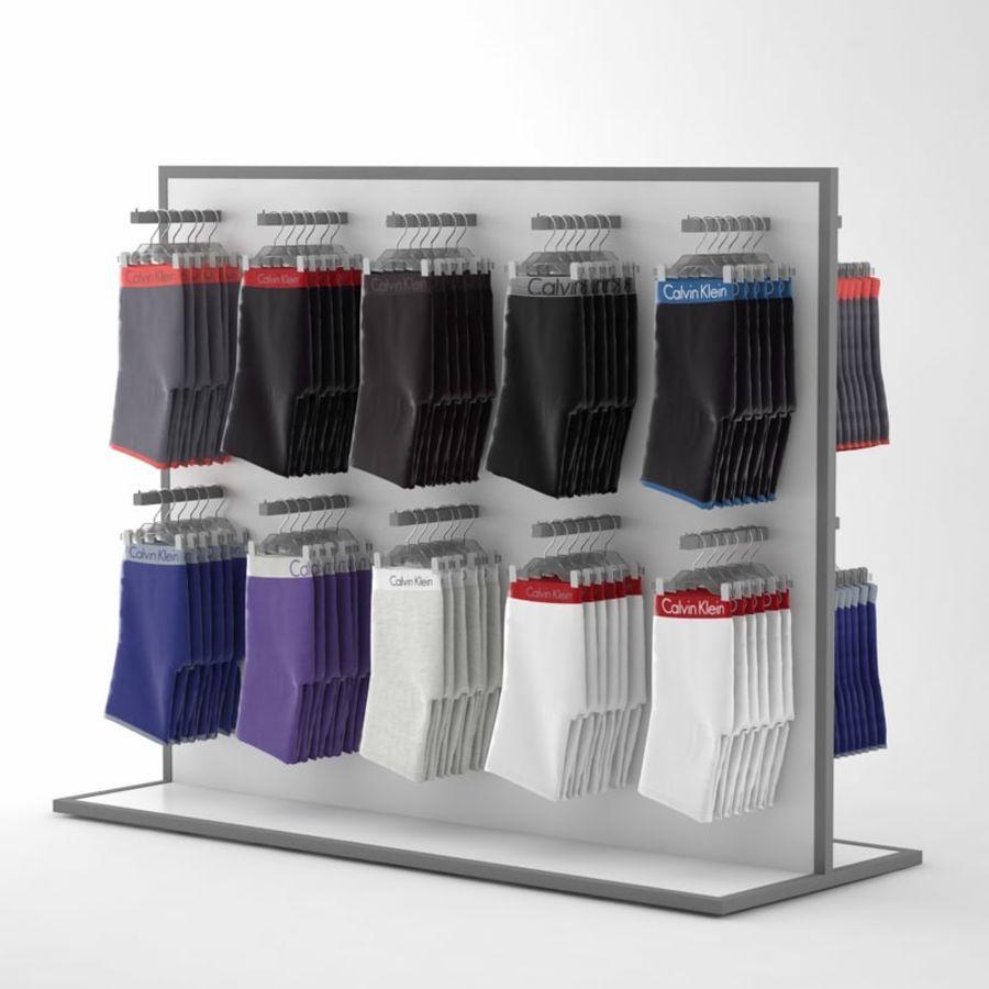 Boxer Shorts Set royalty-free 3d model - Preview no. 2