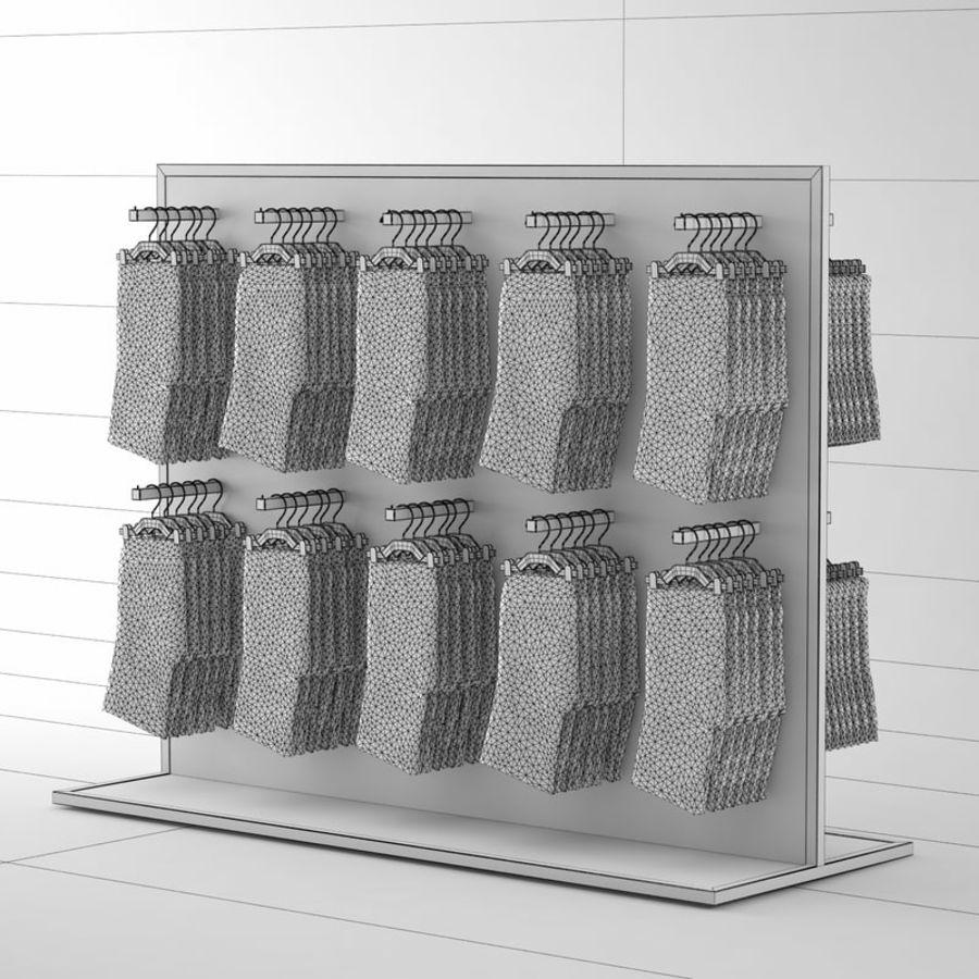 Boxer Shorts Set royalty-free 3d model - Preview no. 8