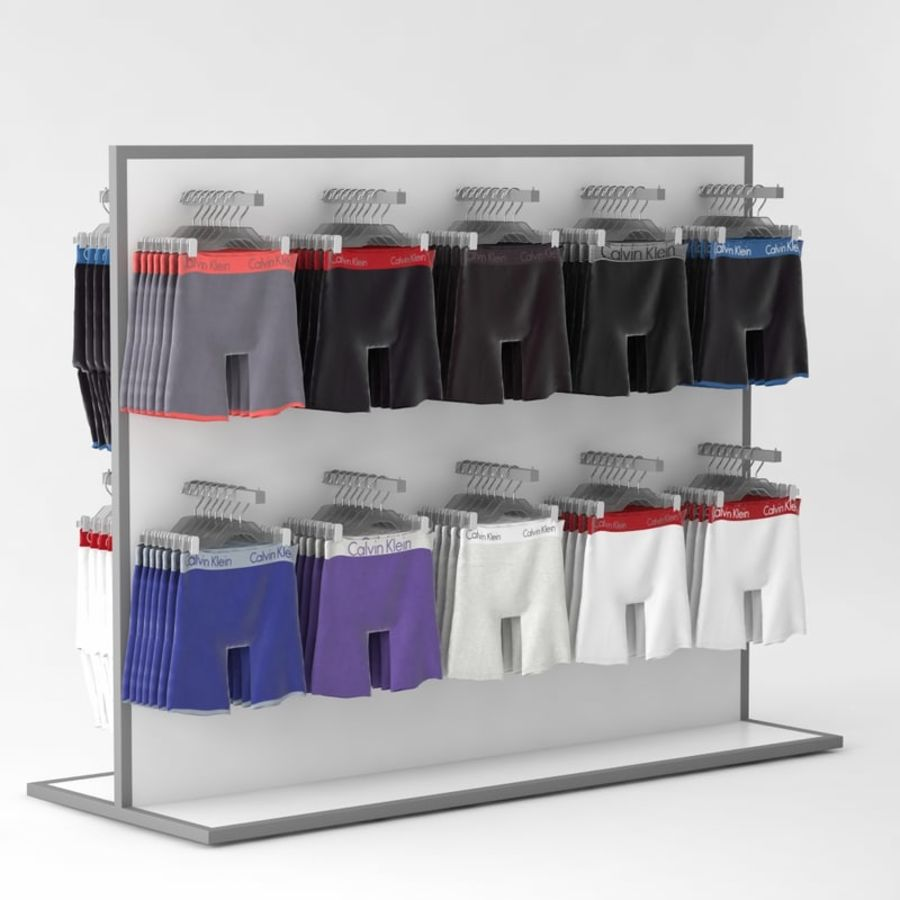 Boxer Shorts Set royalty-free 3d model - Preview no. 5