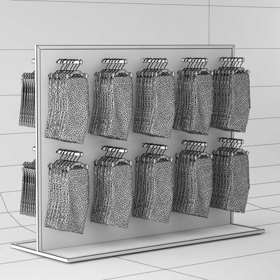 Boxer Shorts Set royalty-free 3d model - Preview no. 9