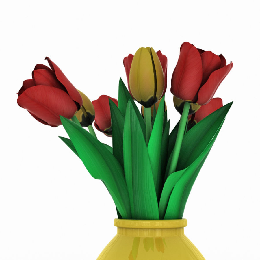 Букет тюльпанов фигурки