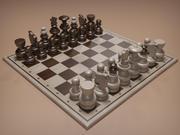 체스 세트 2 3d model