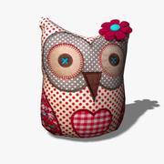 Owl Toy 3d model
