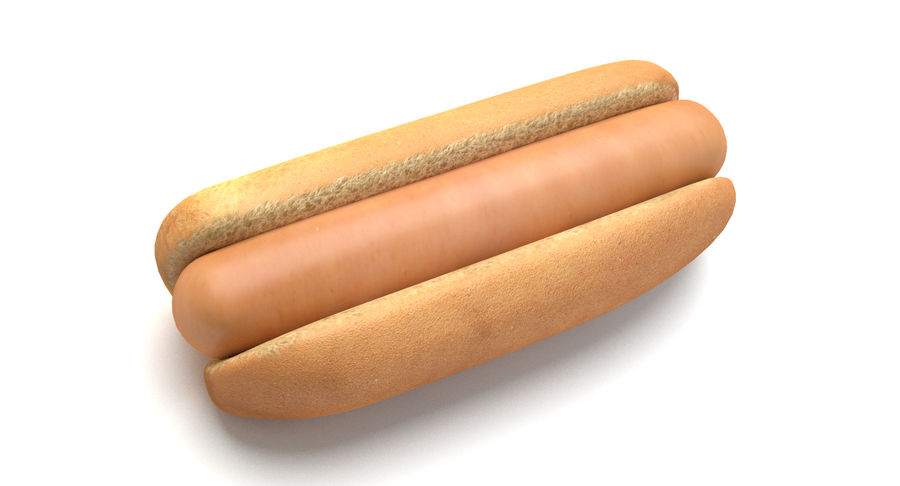 Hot Dog royalty-free 3d model - Preview no. 5