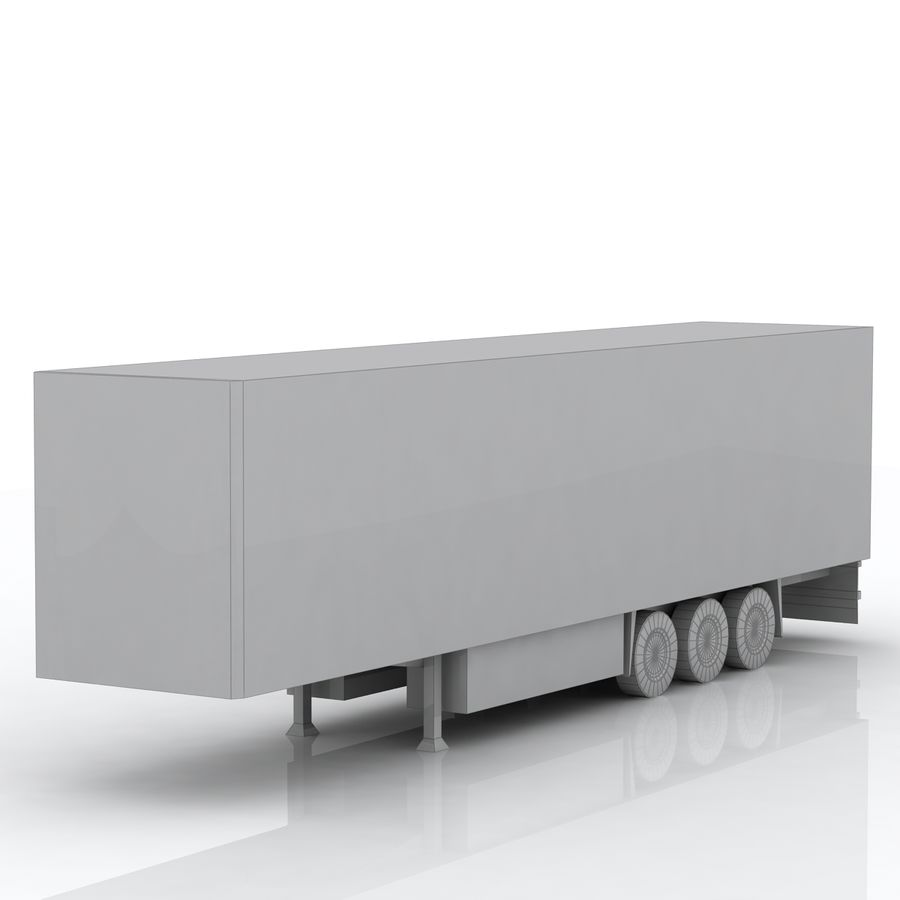 Schmitz Cargobull Trailer royalty-free 3d model - Preview no. 6