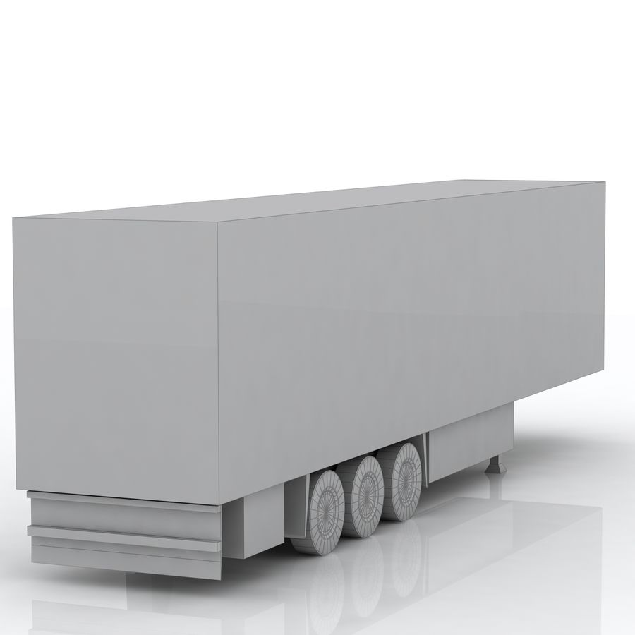 Schmitz Cargobull Trailer royalty-free 3d model - Preview no. 7