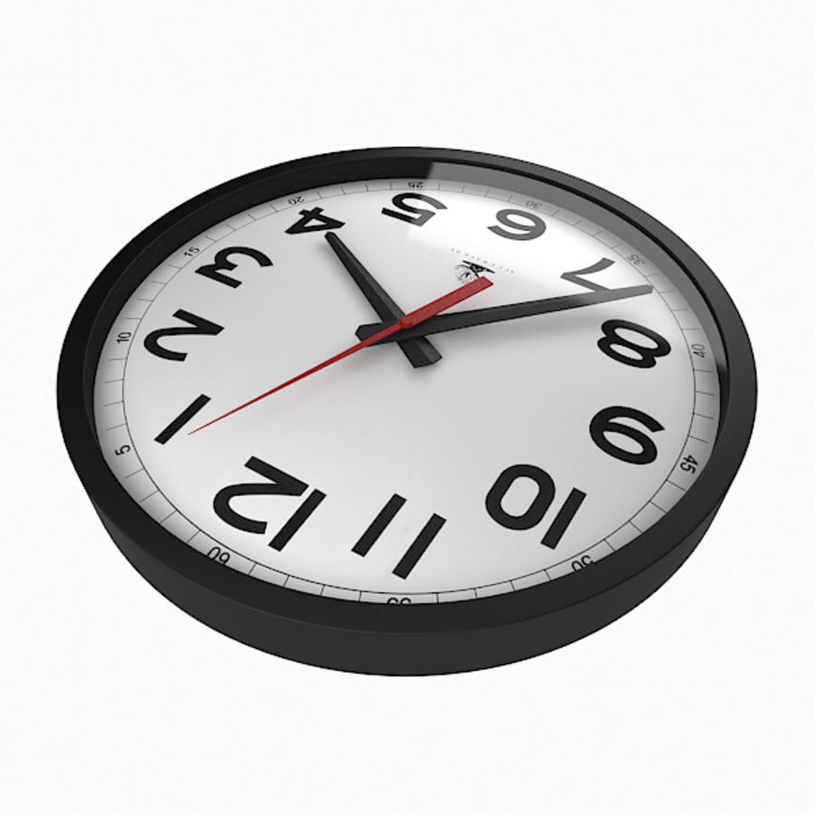 Clock royalty-free 3d model - Preview no. 5