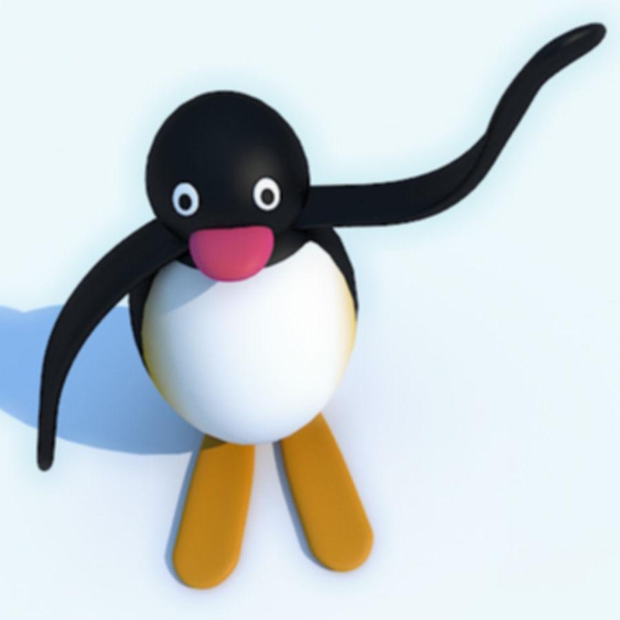 Pingu Modèle 3d 12 Max Free3d