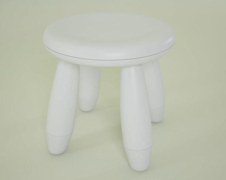 Mammut stool d model obj max fbx free d