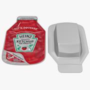 Ketchup Heinz Dip Squeeze 3d model