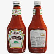 Ketchup Bottle 2 3d model