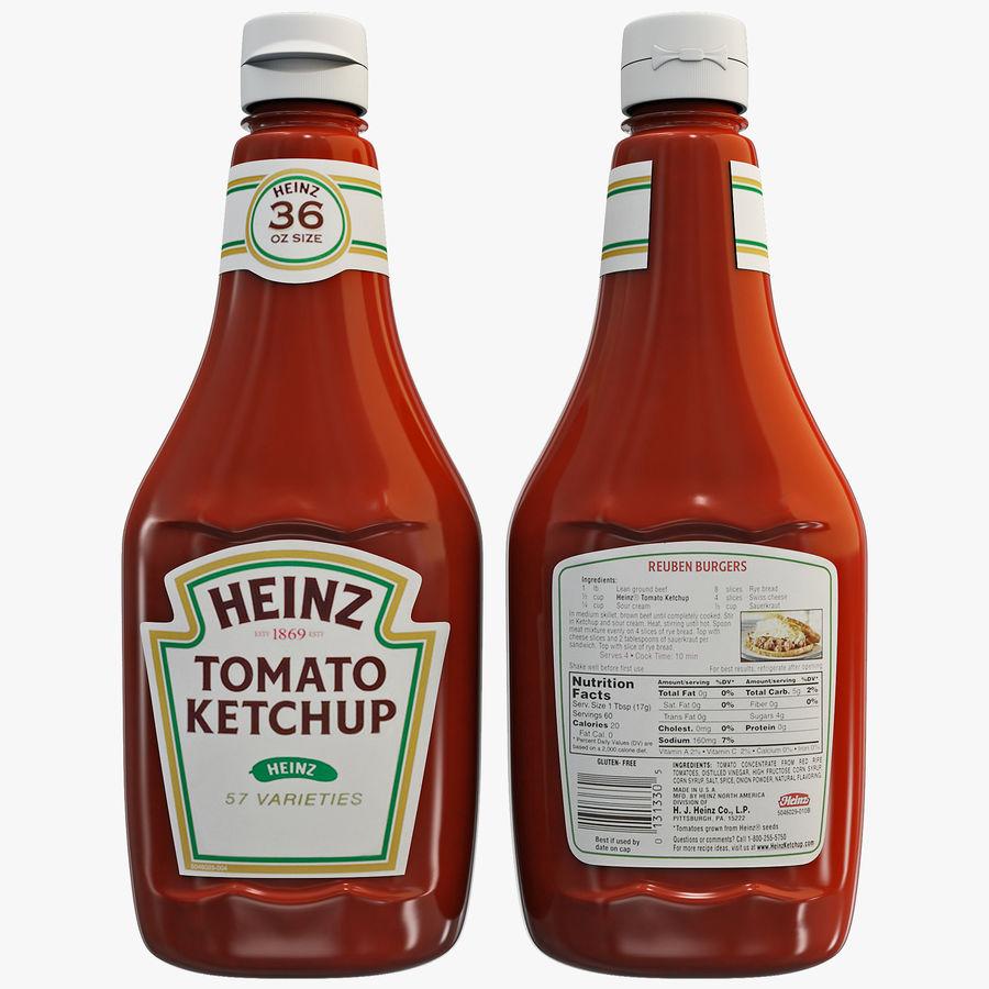 Ketchup Bottle 2 3D Model $19 -  c4d  lwo  max  ma  obj  3ds - Free3D