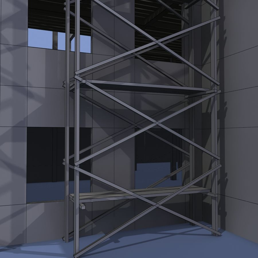Construction Building royalty-free 3d model - Preview no. 15