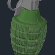 MK II Hand Grenade 3d model