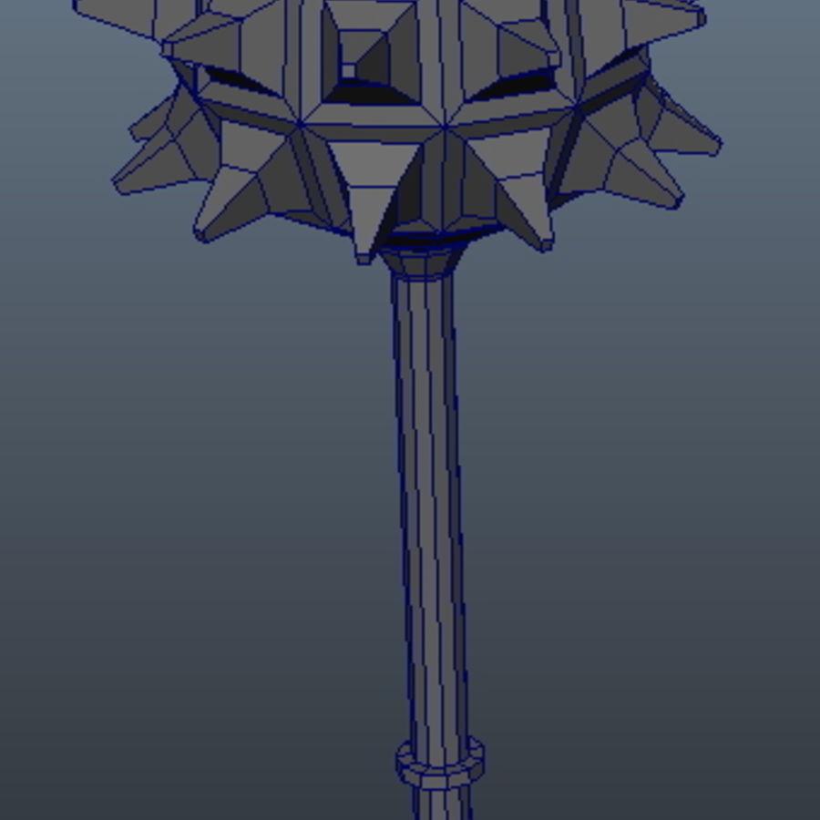 古代武器_01 royalty-free 3d model - Preview no. 3