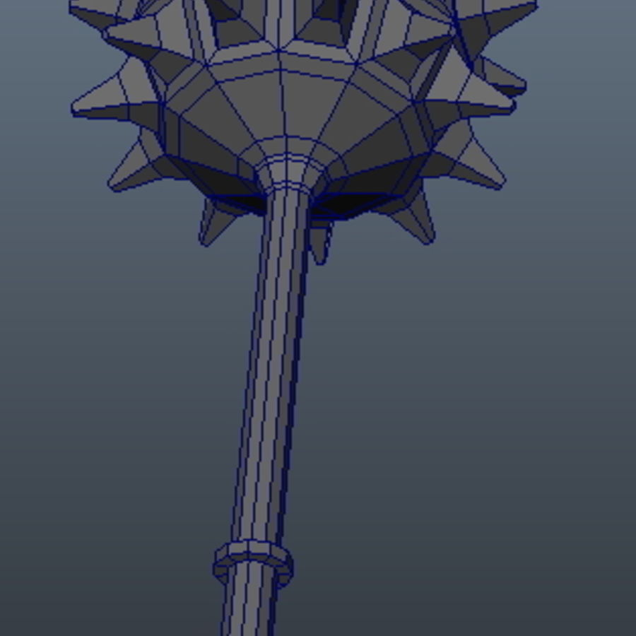 Ancient Weapon_01 royalty-free 3d model - Preview no. 4