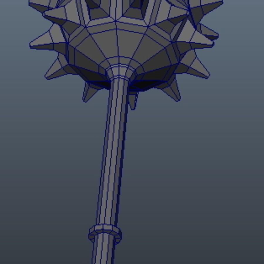 古代武器_01 royalty-free 3d model - Preview no. 4